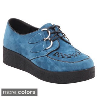 Wanted Women's 'Pringle' Suedette Oxford Shoes