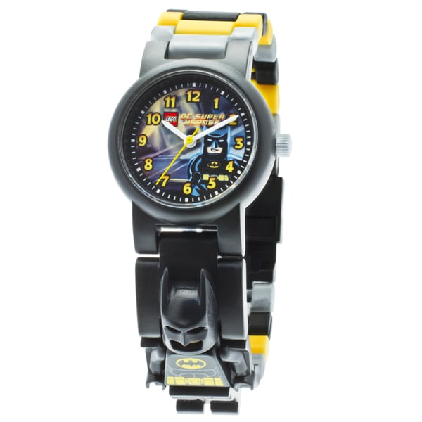 LEGO Super Heroes Batman Kid's Minifigure Interchangeable Links Watch