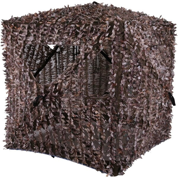 Ameristep Bone Collector Realtree Xtra Breeze 3D Leafy Blind