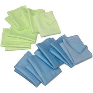 Zwipes Microfiber Windshield/ Glass Cloths (Pack of 10)