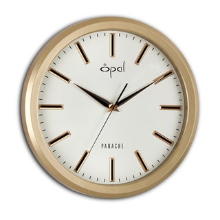 Opal Champagne Color Clock