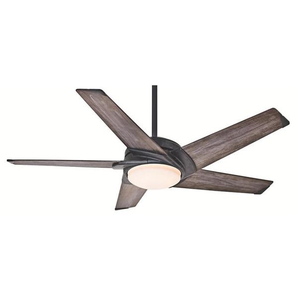 Casablanca 54-inch Stealth Fan with Five Dark Blades