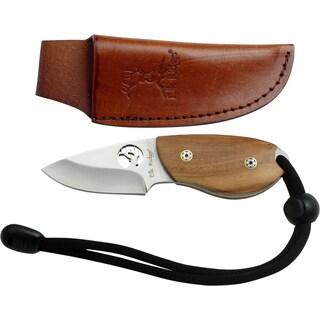 Elk Ridge Olive Wood Handle Fixed Blade Knife