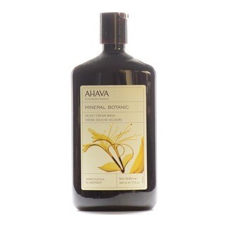 Ahava Mineral Botanic 17-ounce Honeysuckle and Lavender Cream Wash
