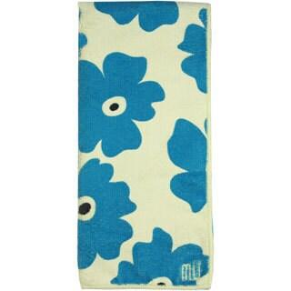 MUkitchen Blue Poppy Microfiber Dish Towel