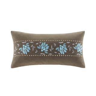 Echo Boho Chic Oblong Pillow