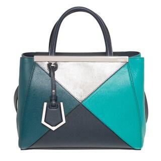 Fendi Petite Multicolor 2Jours Shopper Bag