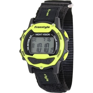 Freestyle Men's Predator 102283 Black Nylon Quartz Digital Watch
