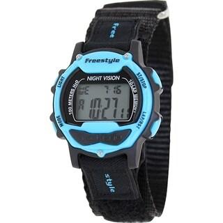 Freestyle Men's Predator 102282 Black Nylon Quartz Digital Watch