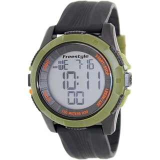 Freestyle Men's Kampus Xl 103315 Black Silicone Quartz Digital Watch
