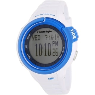 Freestyle Men's Mariner Tide 103183 White Silicone Quartz Digital Watch