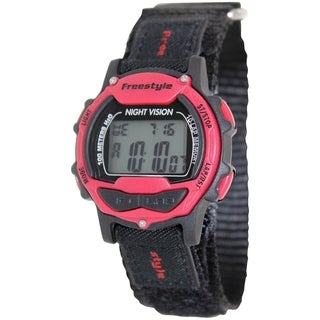 Freestyle Men's Predator 102284 Black Nylon Quartz Digital Watch