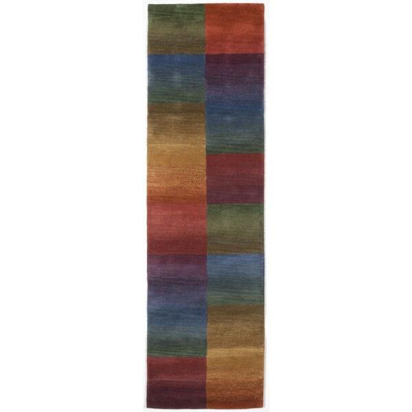 Color Blocks Multi Indoor Rug (2'3X8')