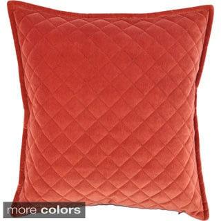 Austin Horn Classics Velvet Diamond 20-inch Luxury Zippered Pillow