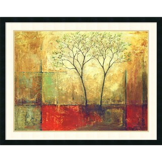 Mike Klung 'Morning Luster I' Framed Art Print 38 x 30-inch