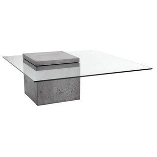 Sunpan Grange Glass Coffee Table