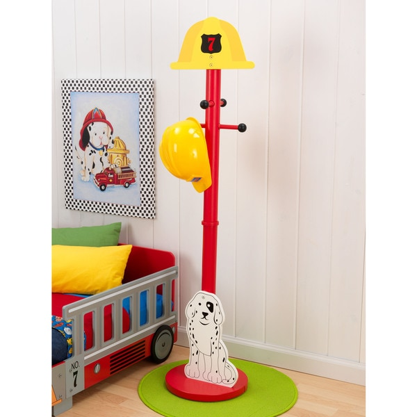 KidKraft Fire Truck Clothes Pole