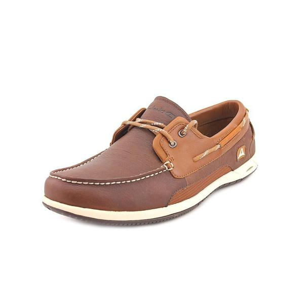 Clarks Men's 'Orson Harbour' Leather Casual Shoes