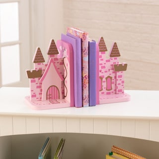 KidKraft Pink Princess Castle Bookends