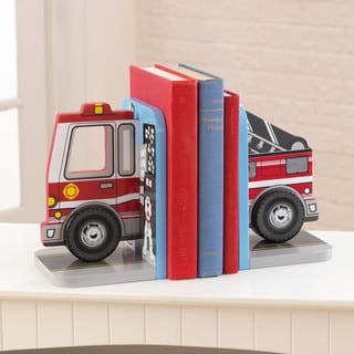 KidKraft Fire Truck Bookends