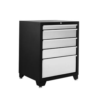 NewAge Products Stainless Steel 5-drawer Tool Storage