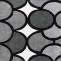 Alliyah Handmade Grey New Zealand Blend Wool Rug (6' x 6')