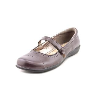 French Toast Girl (Youth) 'Bianca' Faux Leather Dress Shoes