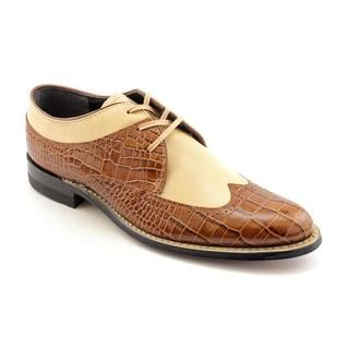 Stacy Adams Men's 'Dayton' Leather Dress Shoes - Extra Wide (Size 8 )