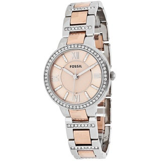 Fossil Women's Virginia ES3405 Two-tone Stainless Steel Quartz Watch