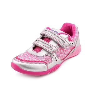 Stride Rite Girl (Youth) 'S&S Crystal' Faux Leather Athletic Shoe