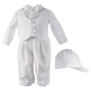 Boys' Christening/ Special Occasion Shantung Suit Set