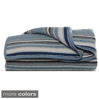 Stone Cottage Fresno Cotton Quilted Throw