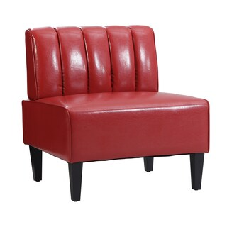 Moda Red Channel Back Nook Single Bench