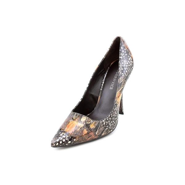 Modern Vice Women's 'Mariah' Patent Leather Dress Shoes (Size 7 )