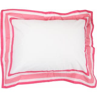 Simplicity Hot Pink Standard Pillow Sham