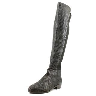 Michael Kors Women's 'Bromley Flat Boot' Distressed Leather Boots (Size 5.5 )