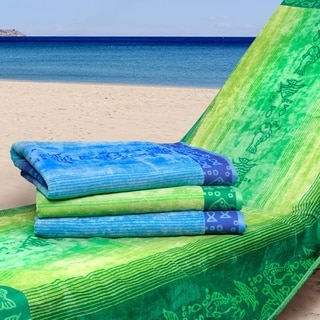 Oceanscape Oversized Beach Towels (Set of 2)