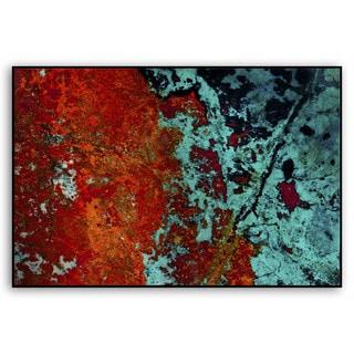 Eric Heuschele's 'Red Sea' Metal Art