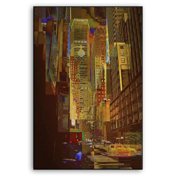 Miriam Danar's 'East 45th' Metal Art