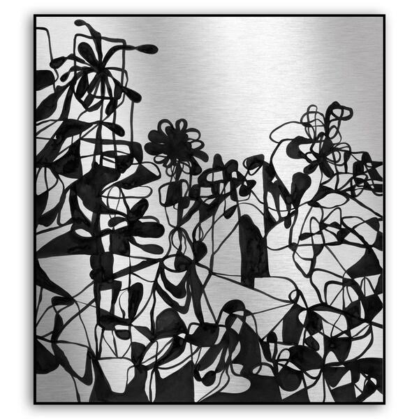 Rupert Santos's 'Wild Flowers' Metal Art