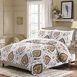 Medano Reversible Cotton 3-piece Quilt Set