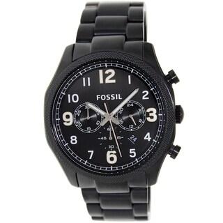 Fossil Men's FS4864 Black Foreman Watch