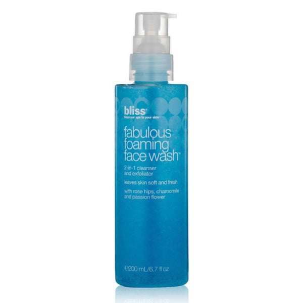 Bliss 6.7-ounce Fabulous Foaming Face Wash