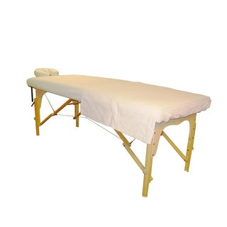 Sivan Health and Fitness Massage Table Flannel Sheet Set