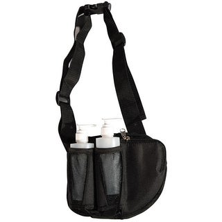 Sivan Health and Fitness Black Nylon Double Oil Holster