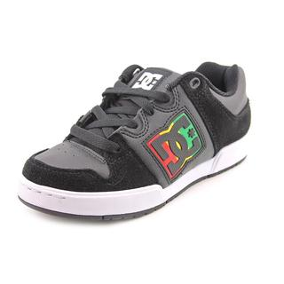 DC Boy (Youth) 'Turbo 2' Leather Athletic Shoe (Size 3 )