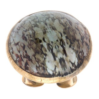 Arleti Golden Dome Cocktail Ring (India)