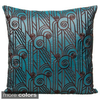 18 x 18-inch Tribal Decorative Accent Pillow , Handmade in India