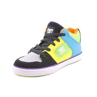 DC Boy (Youth) 'Radar' Leather Athletic Shoe (Size 3 )