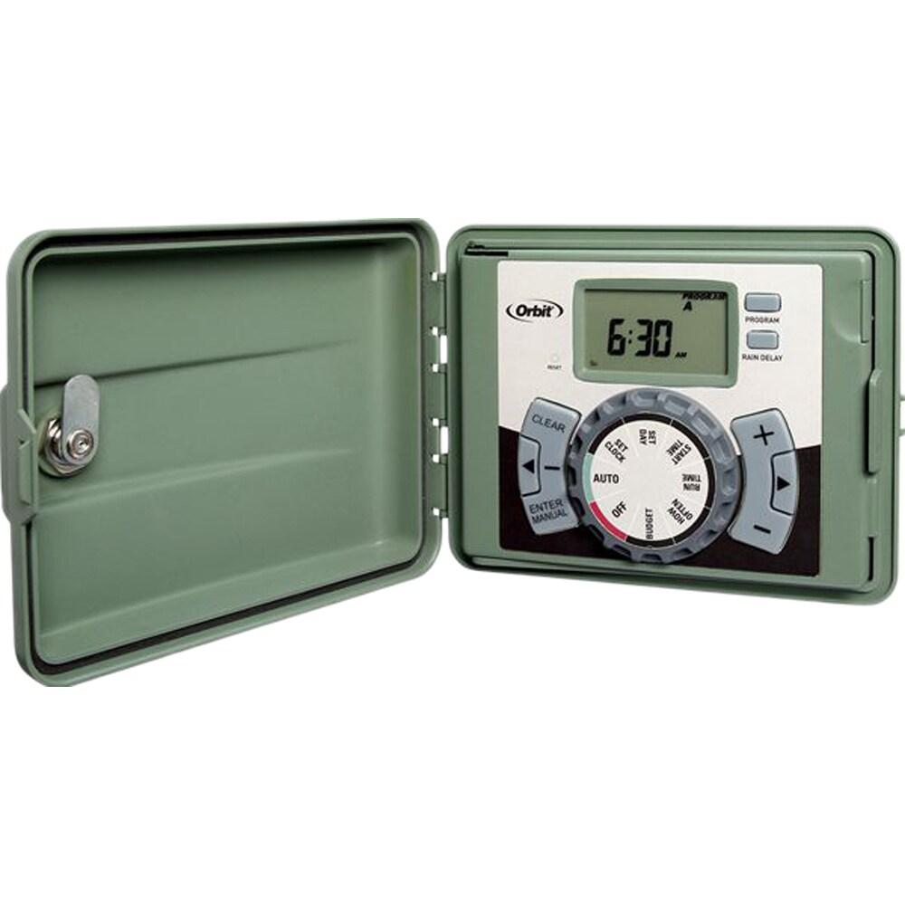Overstock.com Orbit 57894 4-station Easy-Set Green Logic Timer at Sears.com